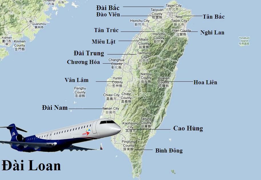 GỬI HÀNG ĐI ĐÀI LOAN TAIWAN