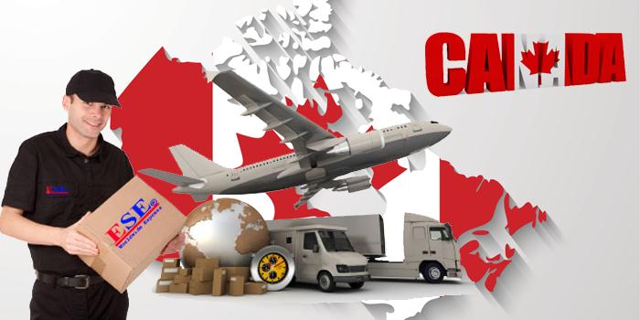 Dịch vụ gửi hàng đi Canada tại ESE Express