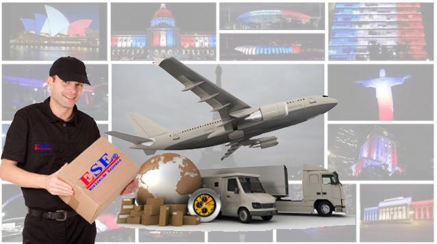 Vận chuyển gửi hàng đi Pháp tại ESE Express
