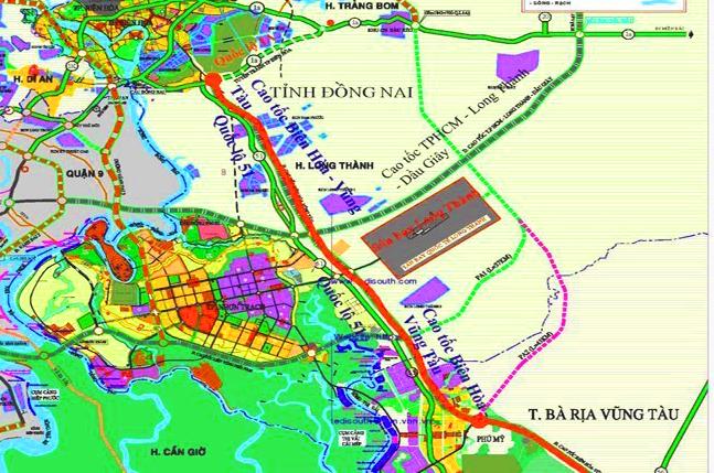 Chi 3 ngàn tỷ VNĐ xây dựng đường cao tốc Biên Hòa-Vũng Tàu